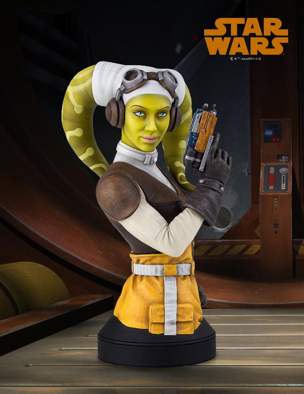 Hera Syndulla mini bust - EXCLU SWCC - Diamond Select Toys Hera_m10