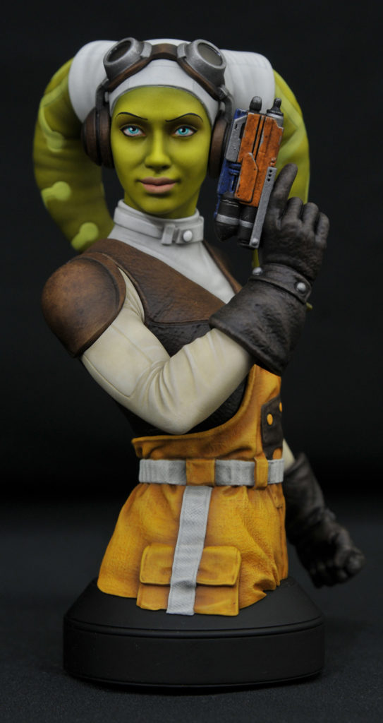 Hera Syndulla mini bust - EXCLU SWCC - Diamond Select Toys Hera_s10
