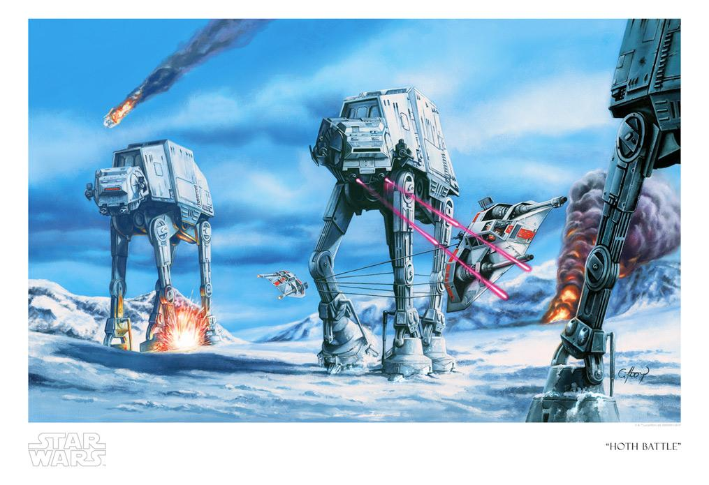Hoth Battle -Star Wars SDCC 2020 - ACME Archives Hoth_b10