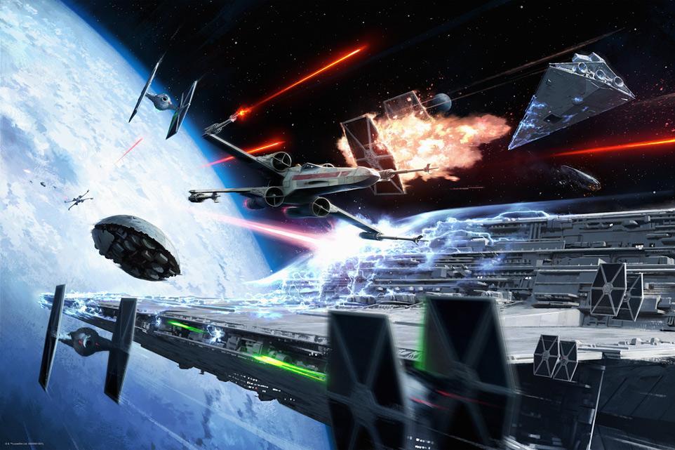 Hoth Evacuation - Artwork Star Wars - ACME Archives Hoth_e10