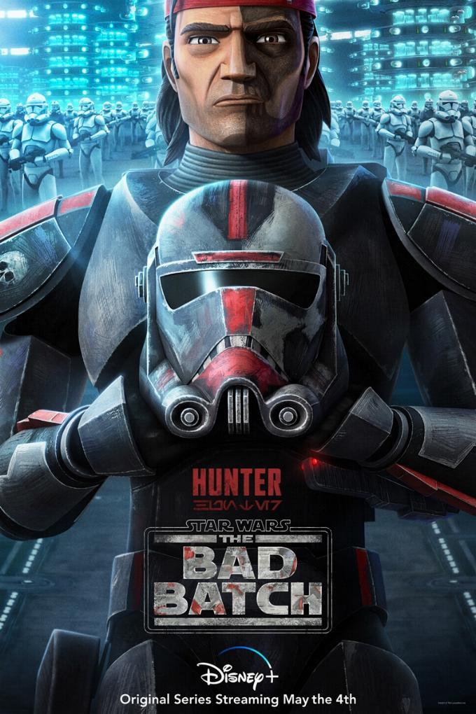 Star Wars The Bad Batch : Les NOUVELLES de la série Hunter11