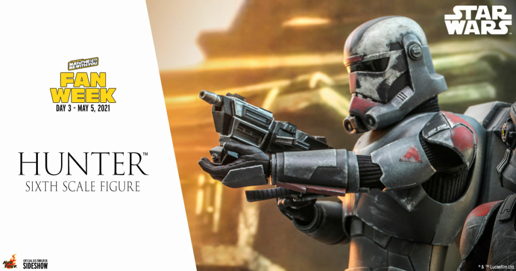 Hunter Sixth Scale Figure Star Wars The Bad Batch – Hot Toys Hunter12