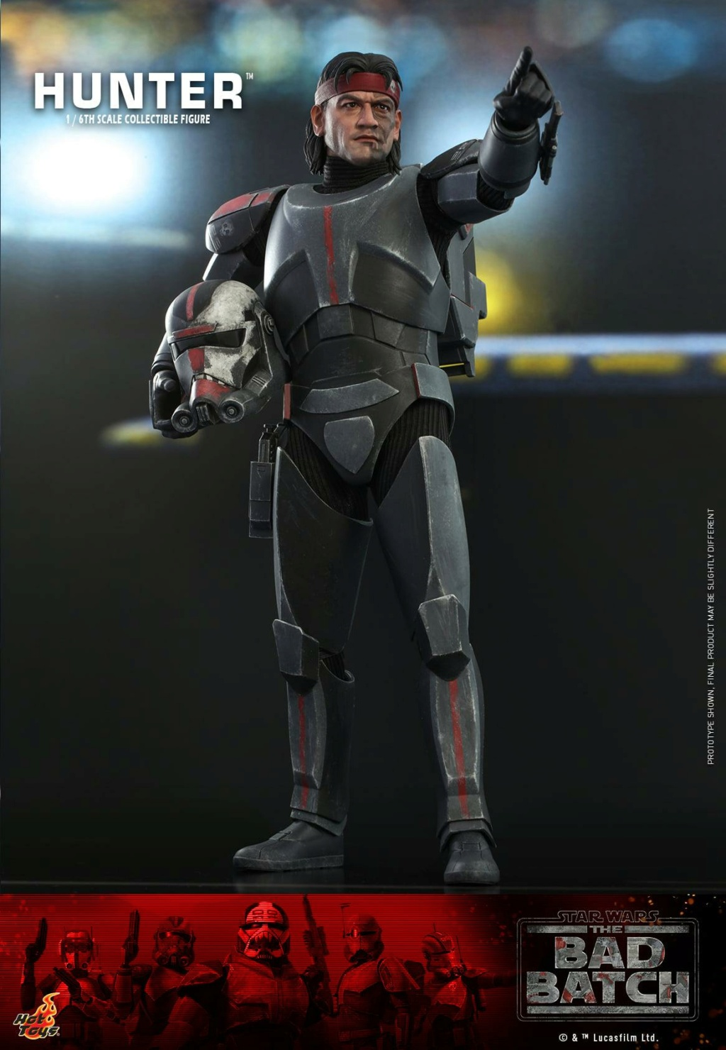 Hunter Sixth Scale Figure Star Wars The Bad Batch – Hot Toys Hunter13
