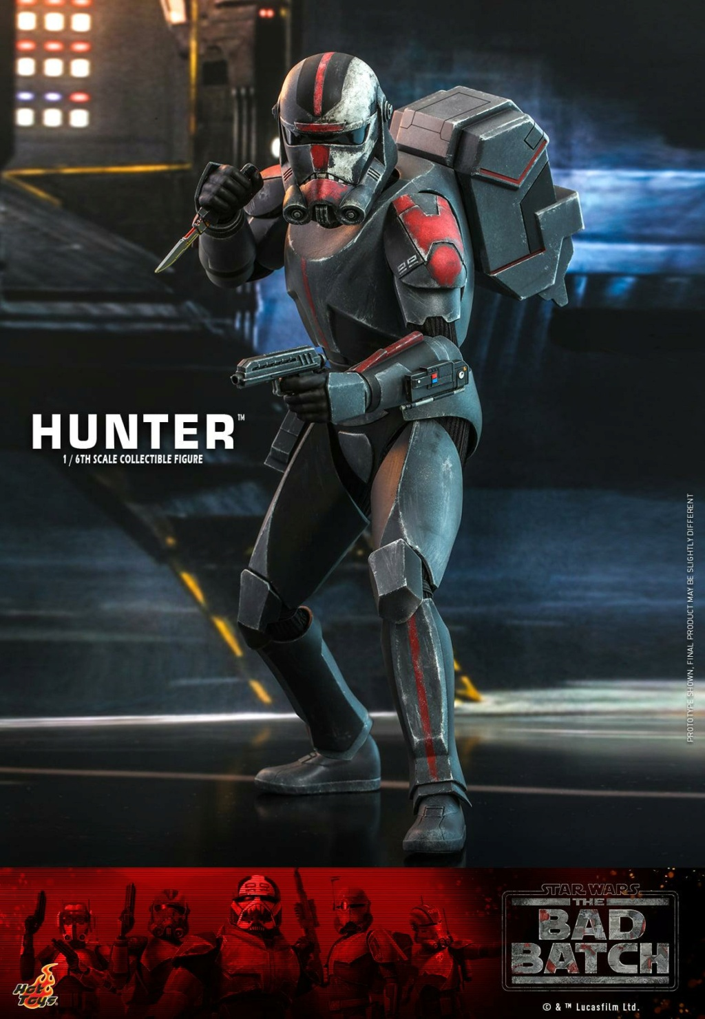 Hunter Sixth Scale Figure Star Wars The Bad Batch – Hot Toys Hunter22