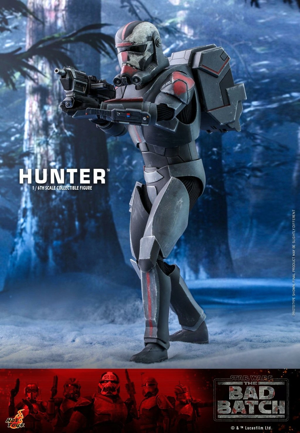 Hunter Sixth Scale Figure Star Wars The Bad Batch – Hot Toys Hunter23