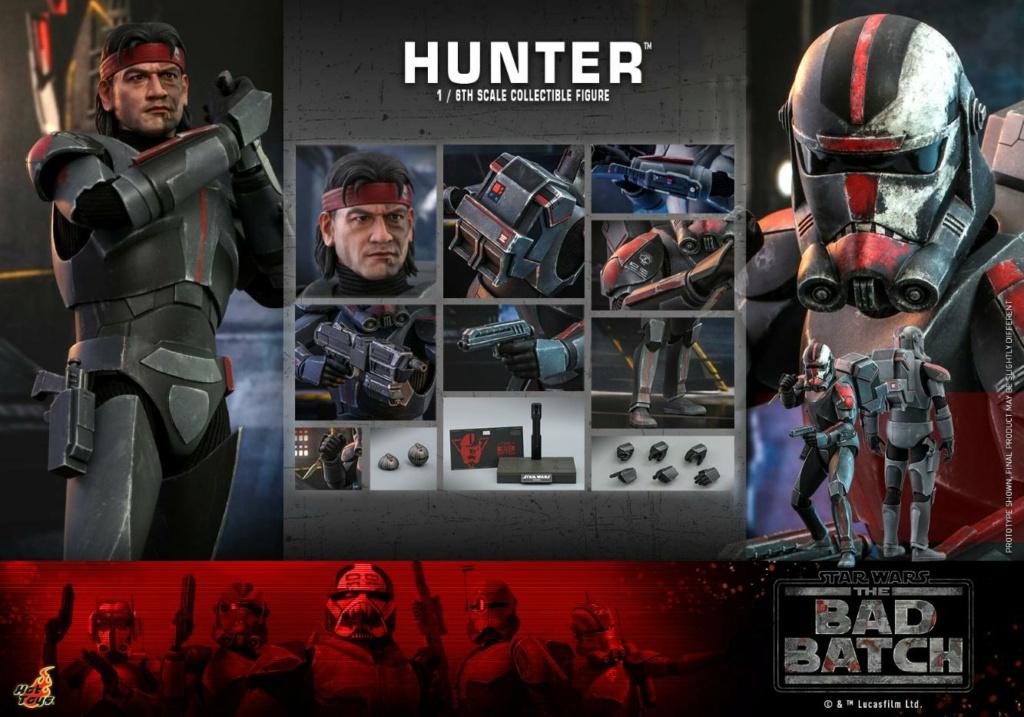 Hunter Sixth Scale Figure Star Wars The Bad Batch – Hot Toys Hunter31