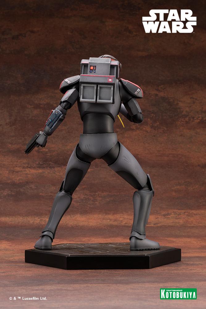 Hunter Statue - Star Wars The Bad Batch - Kotobukiya Hunter36