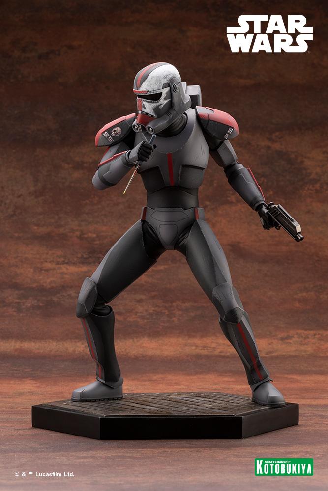 Hunter Statue - Star Wars The Bad Batch - Kotobukiya Hunter39