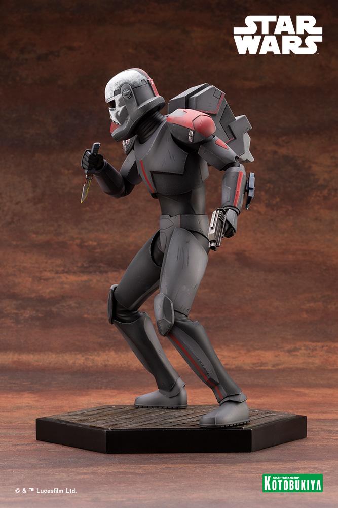 Hunter Statue - Star Wars The Bad Batch - Kotobukiya Hunter40