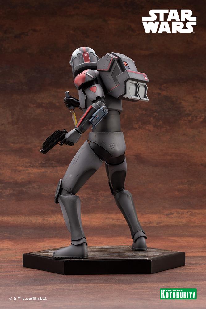 Hunter Statue - Star Wars The Bad Batch - Kotobukiya Hunter41