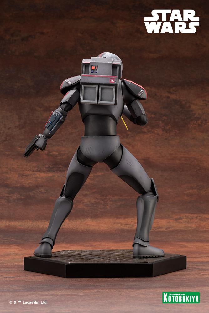 Hunter Statue - Star Wars The Bad Batch - Kotobukiya Hunter42