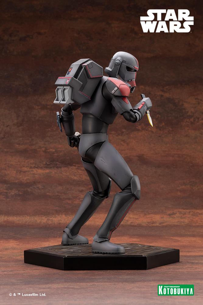Hunter Statue - Star Wars The Bad Batch - Kotobukiya Hunter43