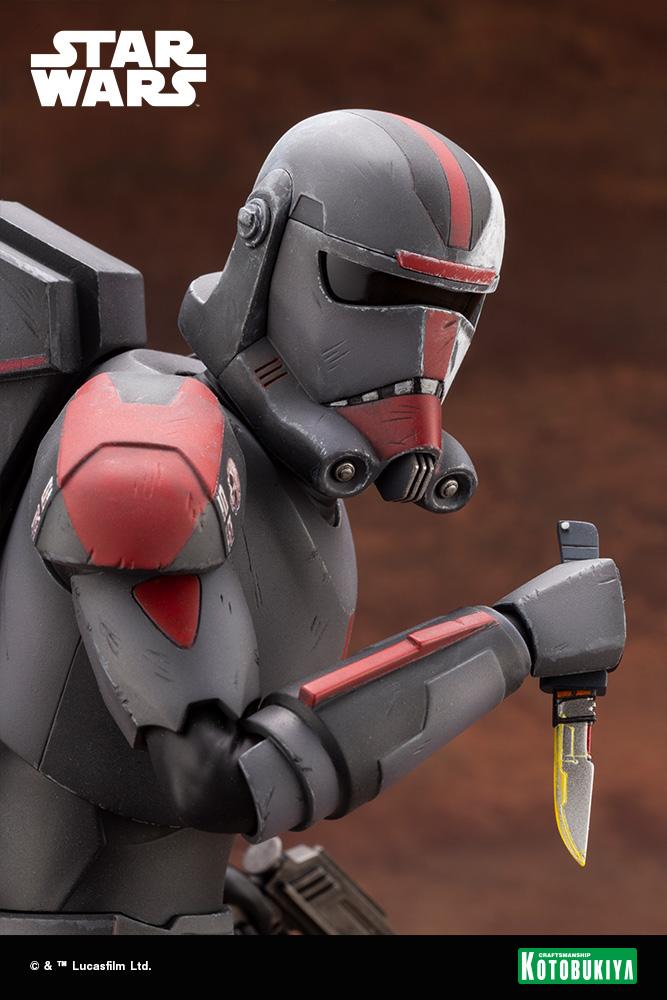 Hunter Statue - Star Wars The Bad Batch - Kotobukiya Hunter51
