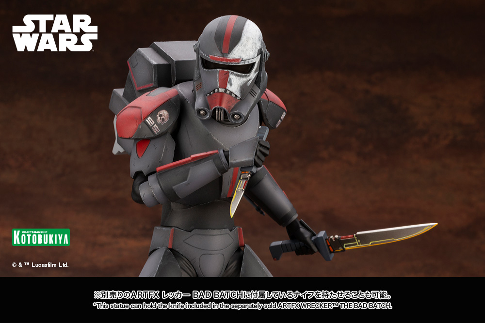 Hunter Statue - Star Wars The Bad Batch - Kotobukiya Hunter57