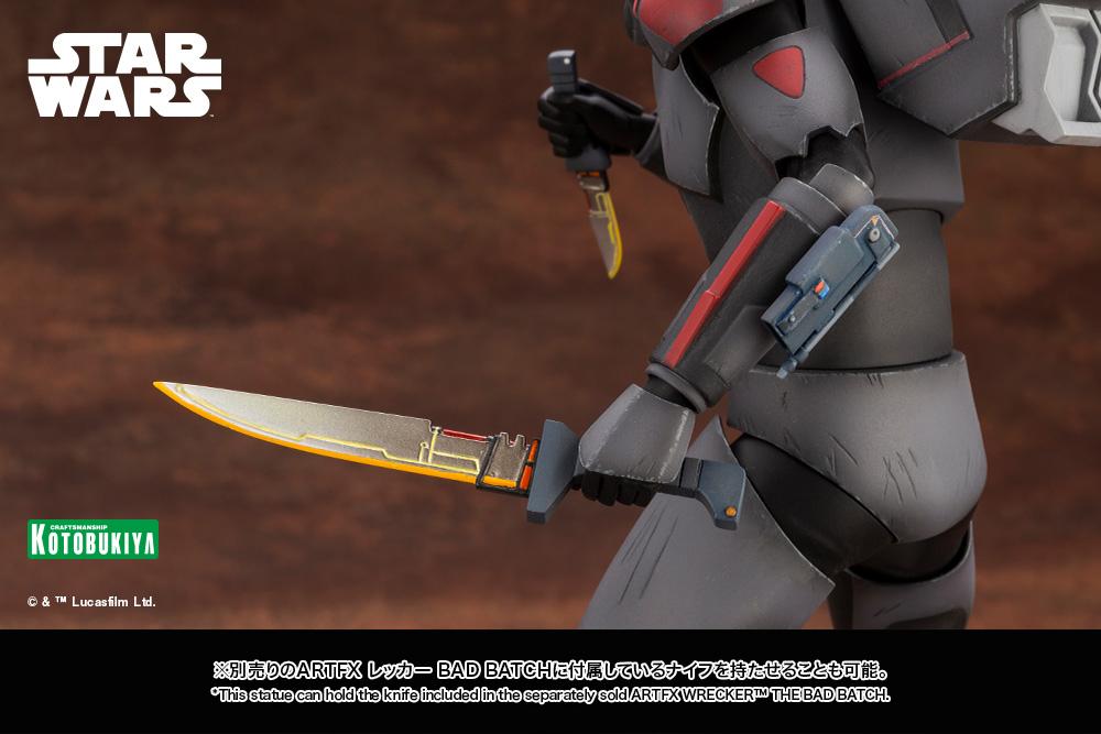 Hunter Statue - Star Wars The Bad Batch - Kotobukiya Hunter58