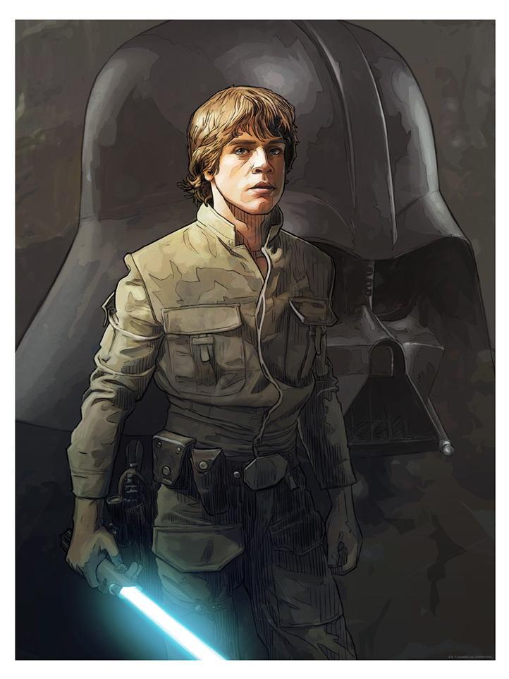 I Feel the Force - Artwork Star Wars - ACME Archives I_feel10