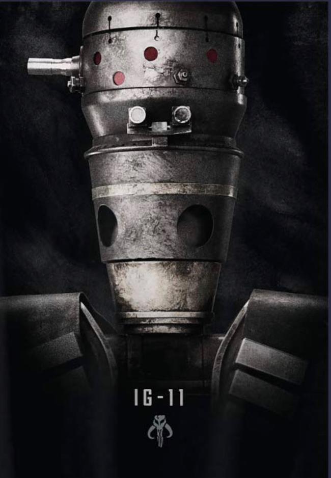 Les RUMEURS de la série Star Wars The Mandalorian Ig-11-10