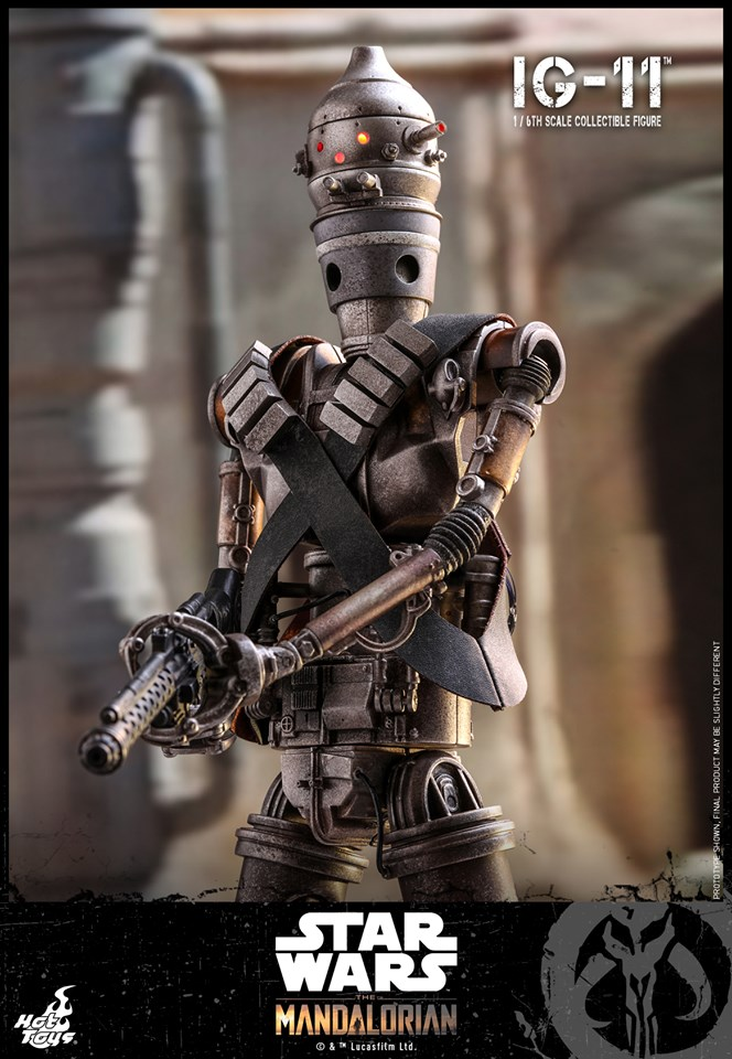 IG-11- 1/6 Scale Figure - Hot Toys Star Wars The Mandalorian Ig11_010