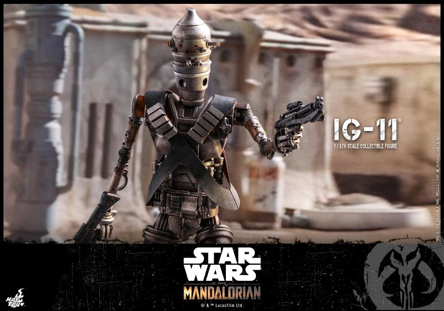 IG-11- 1/6 Scale Figure - Hot Toys Star Wars The Mandalorian Ig11_011