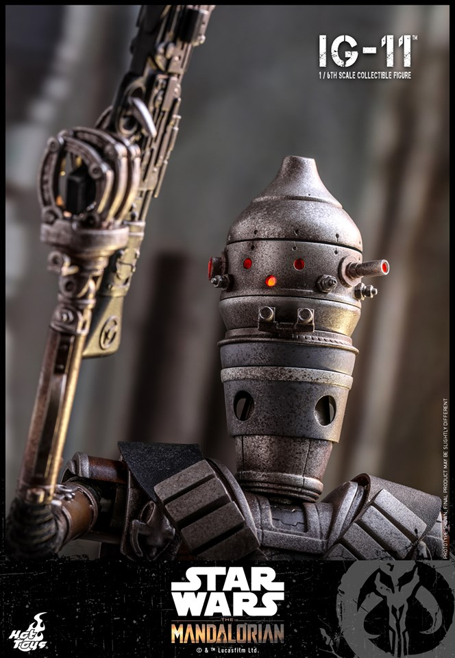 IG-11- 1/6 Scale Figure - Hot Toys Star Wars The Mandalorian Ig11_012