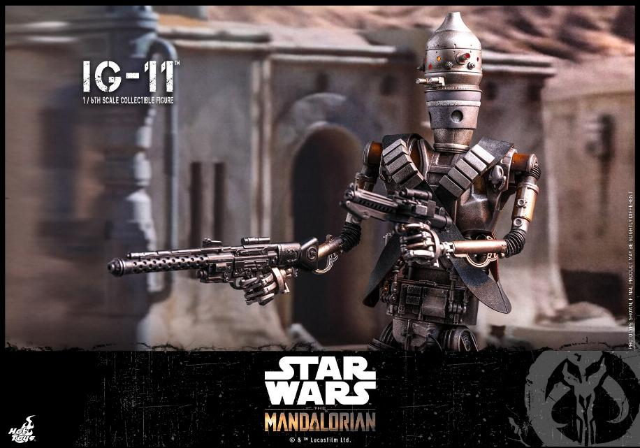 IG-11- 1/6 Scale Figure - Hot Toys Star Wars The Mandalorian Ig11_013