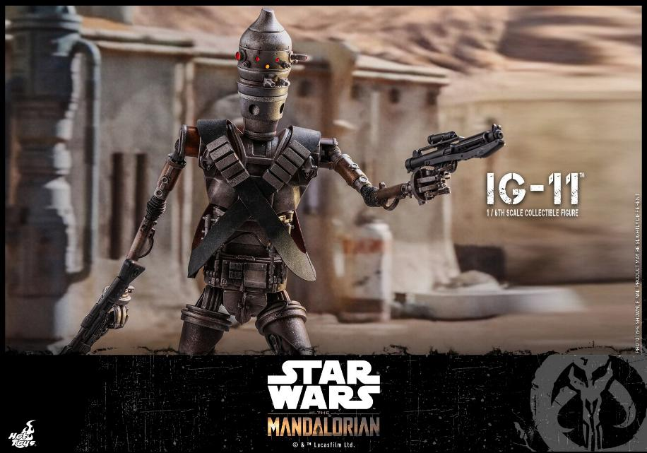 IG-11- 1/6 Scale Figure - Hot Toys Star Wars The Mandalorian Ig11_014