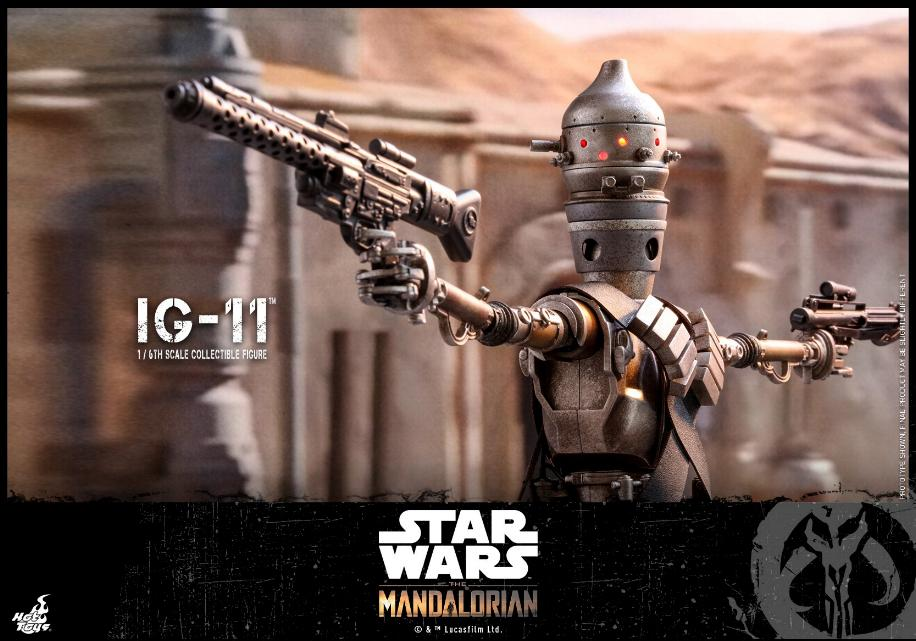 IG-11- 1/6 Scale Figure - Hot Toys Star Wars The Mandalorian Ig11_016