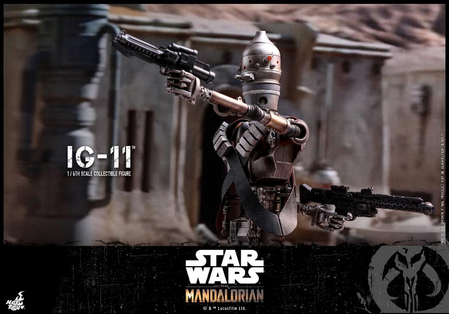IG-11- 1/6 Scale Figure - Hot Toys Star Wars The Mandalorian Ig11_017