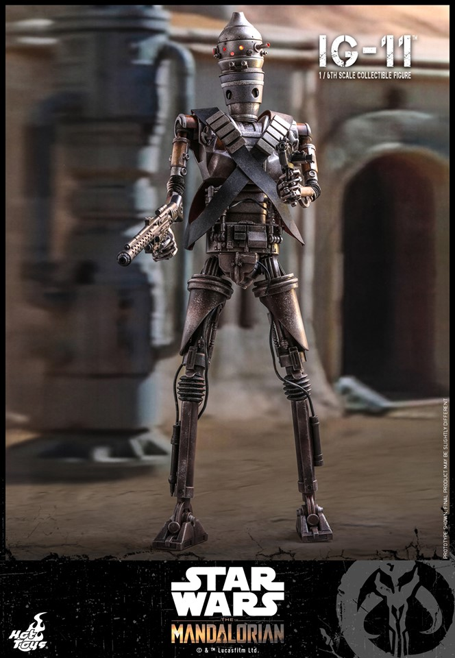 IG-11- 1/6 Scale Figure - Hot Toys Star Wars The Mandalorian Ig11_110