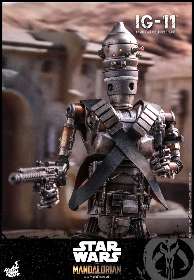 IG-11- 1/6 Scale Figure - Hot Toys Star Wars The Mandalorian Ig11_111