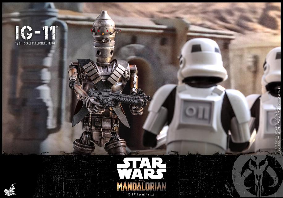 IG-11- 1/6 Scale Figure - Hot Toys Star Wars The Mandalorian Ig11_112