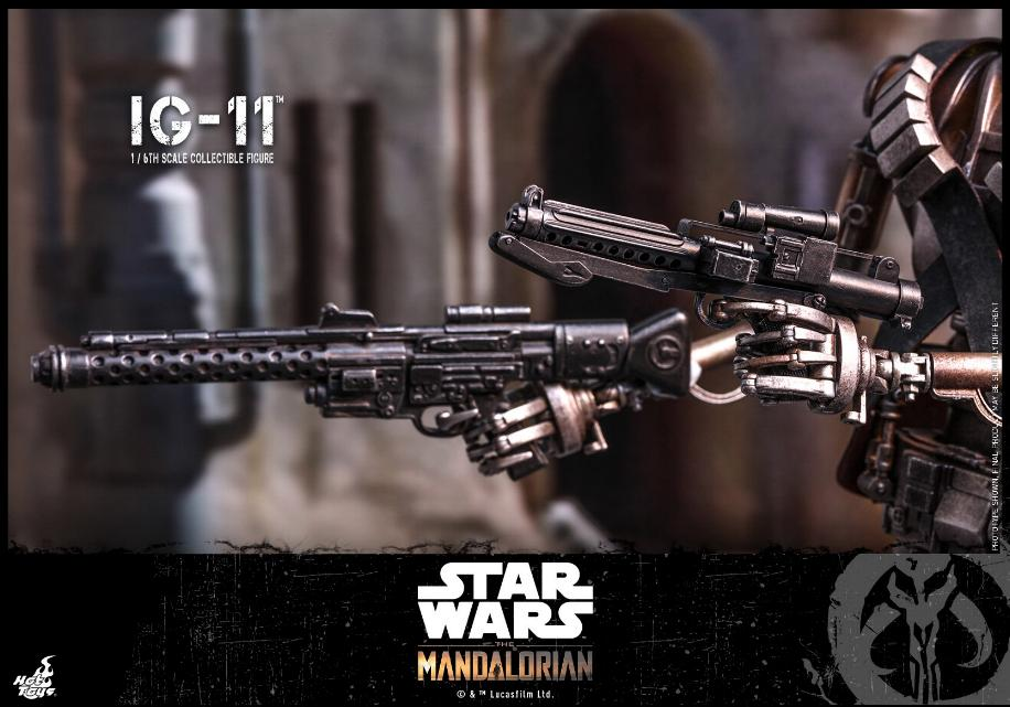 IG-11- 1/6 Scale Figure - Hot Toys Star Wars The Mandalorian Ig11_113