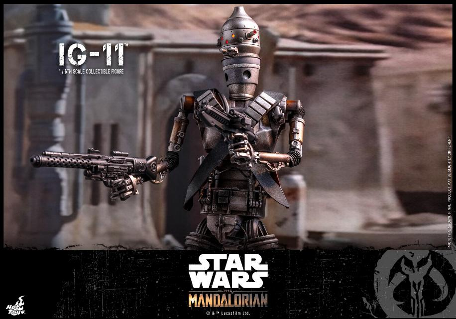 IG-11- 1/6 Scale Figure - Hot Toys Star Wars The Mandalorian Ig11_114