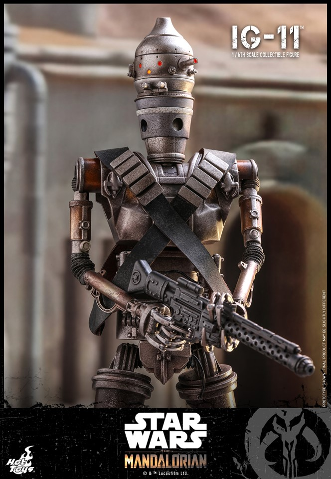 IG-11- 1/6 Scale Figure - Hot Toys Star Wars The Mandalorian Ig11_116