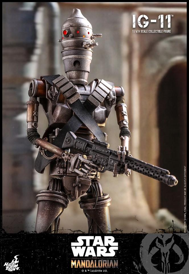 IG-11- 1/6 Scale Figure - Hot Toys Star Wars The Mandalorian Ig11_117