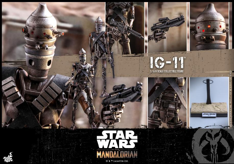 IG-11- 1/6 Scale Figure - Hot Toys Star Wars The Mandalorian Ig11_118