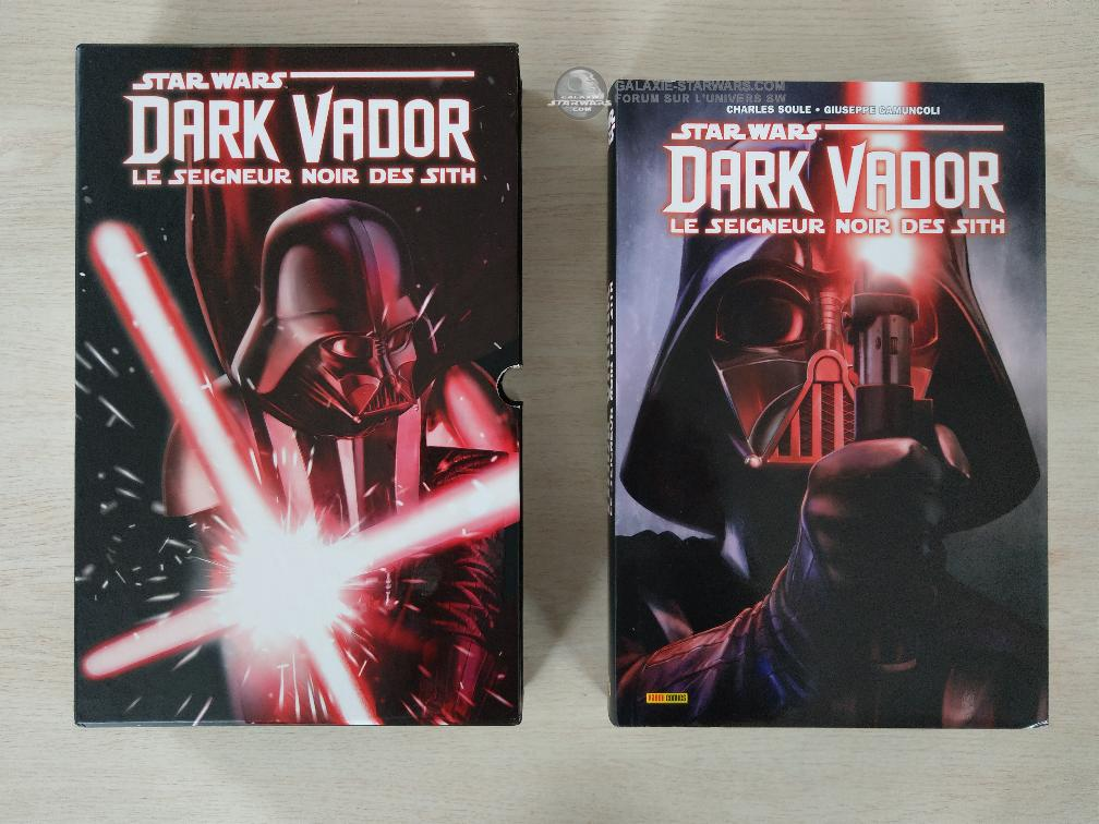 Absolute Dark Vador (2017) Le Seigneur Noir des Sith  PANINI Imag7119