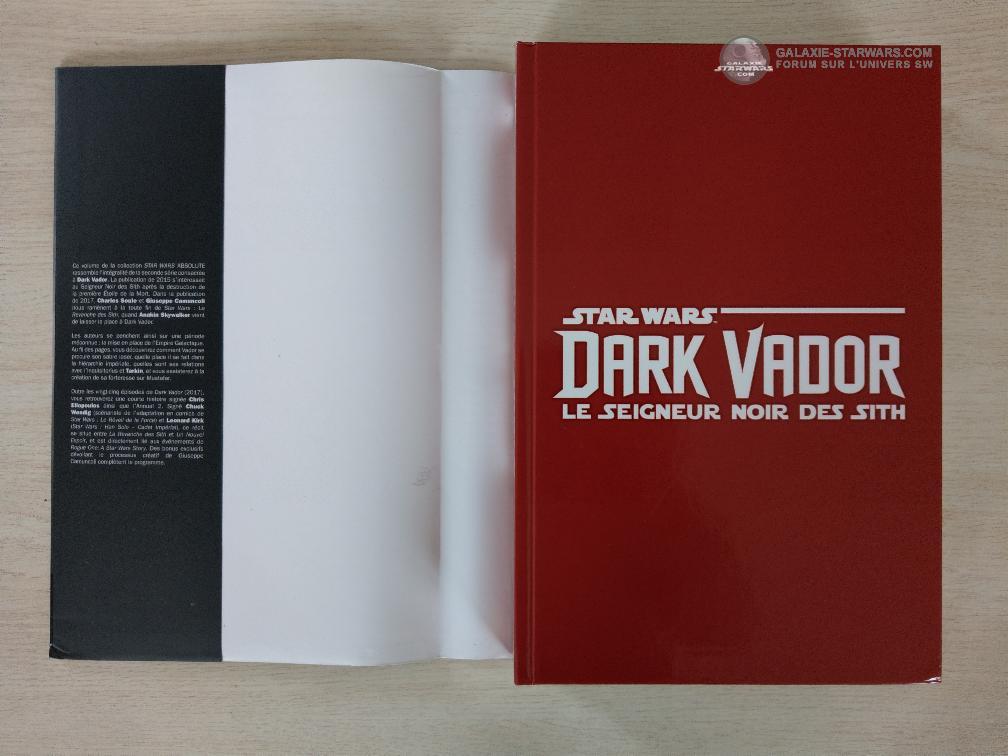 Absolute Dark Vador Seigneur Noir des Sith - PANINI Imag7120
