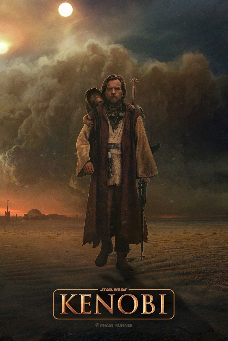 Teaser Trailer Poster Video FanMade Star Wars Kenobi Img_2032