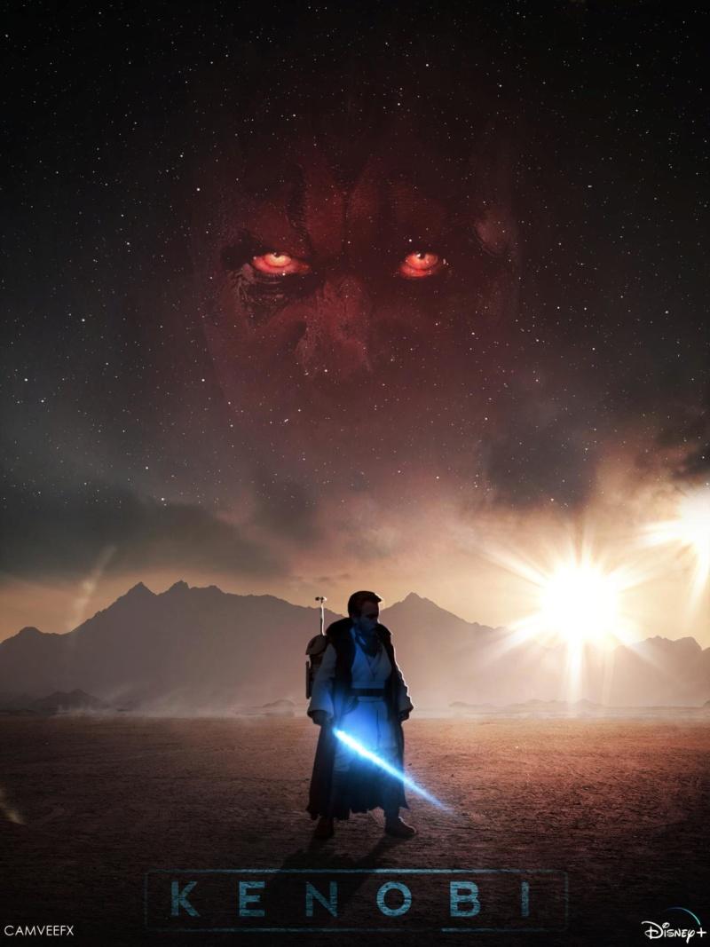 Teaser Trailer Poster Video FanMade Star Wars Kenobi Img_2033
