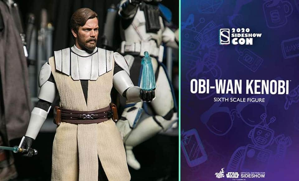 Obi Wan Kenobi (The Clone Wars  version) Sixth Scale Figure  Img_2059