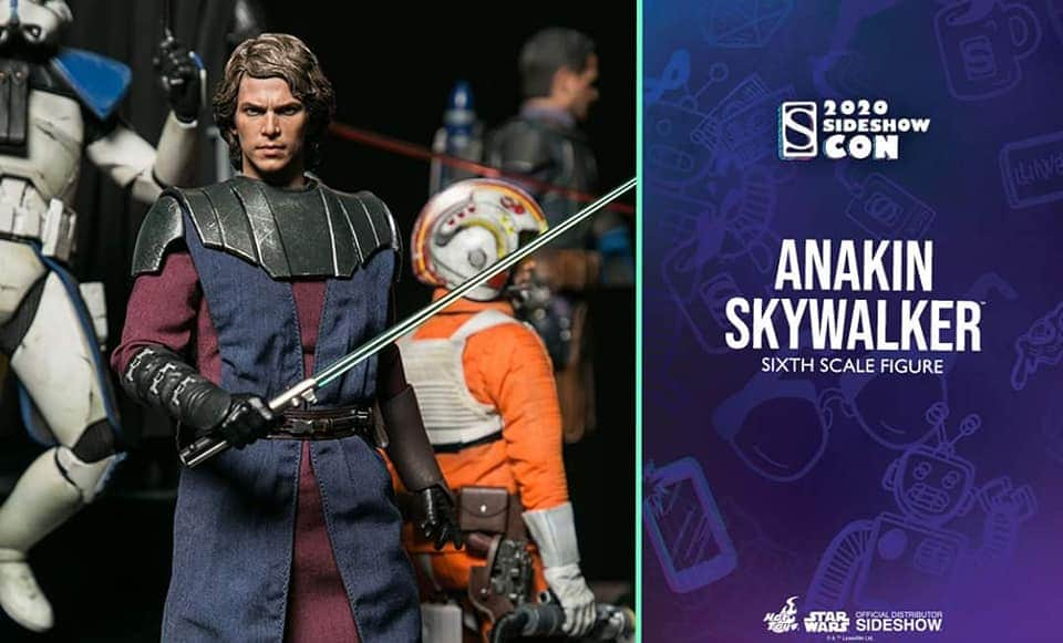 Anakin Skywalker (The Clone Wars version) Sixth Scale Figure Img_2060