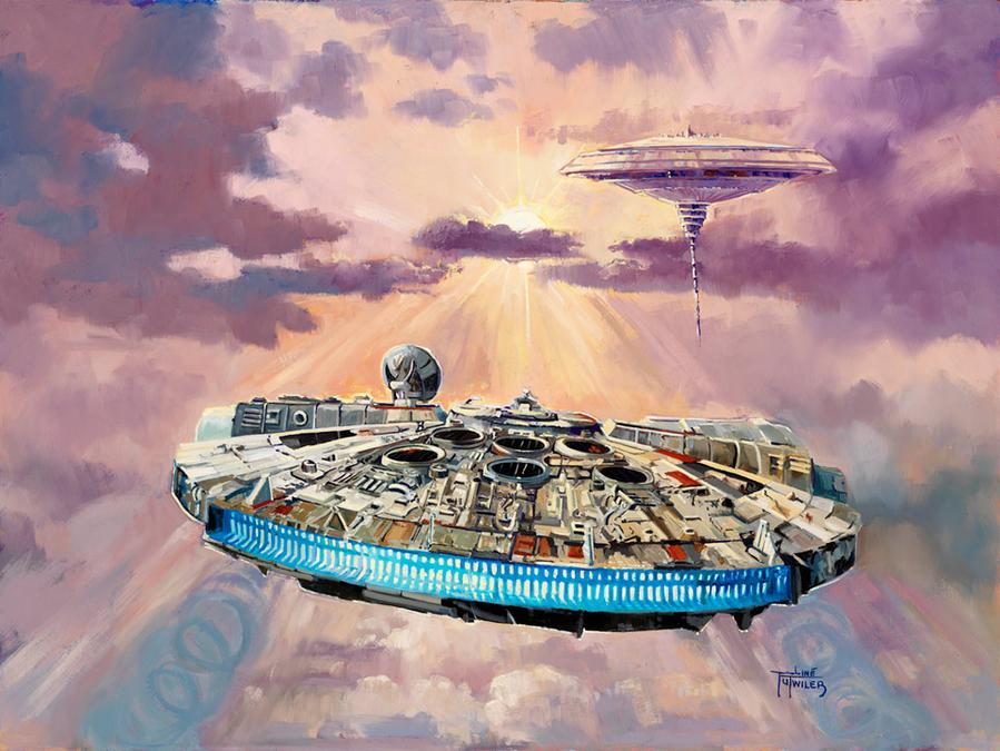 Imminent Danger - Artwork Star Wars - ACME Archives  Immine10