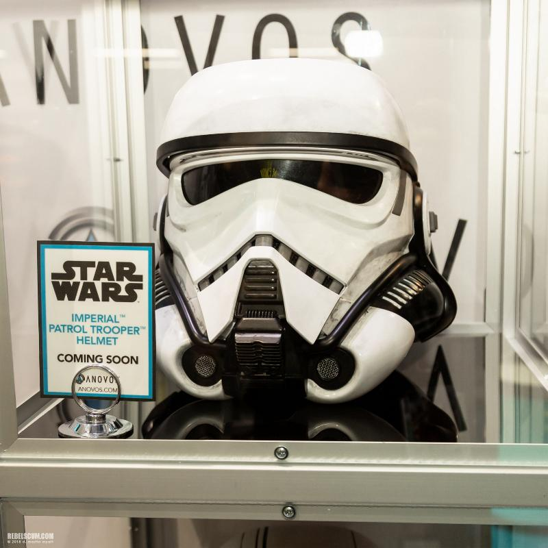 ANOVOS STAR WARS - Imperial Patrol trooper Helmet Impera10