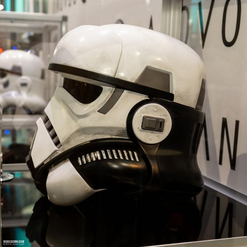 ANOVOS STAR WARS - Imperial Patrol trooper Helmet Impera11