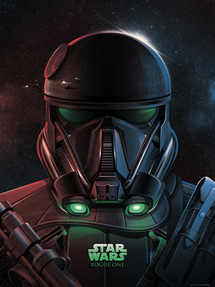 Star Wars Imperial Death Trooper + Variant - Dark Ink Imperi16