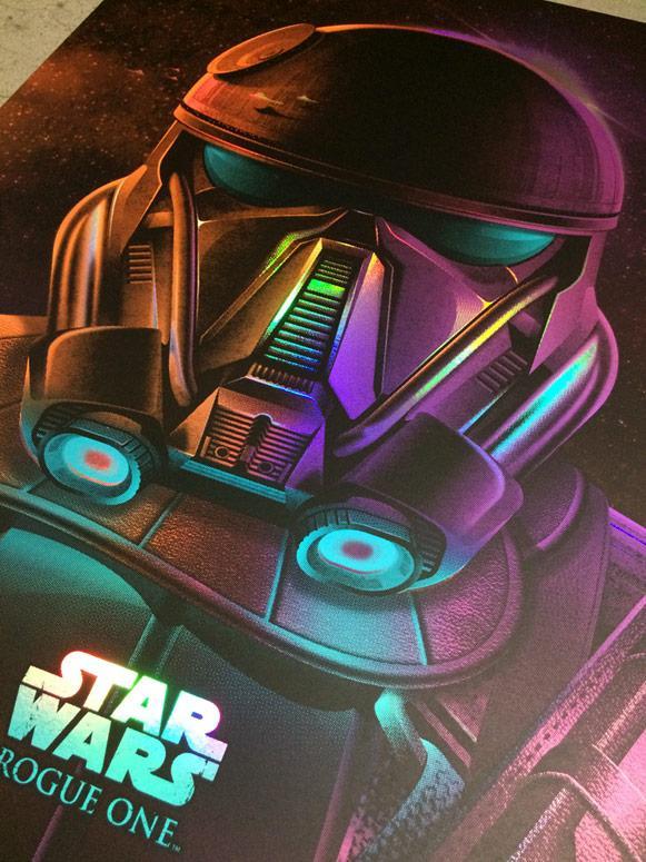 Star Wars Imperial Death Trooper + Variant - Dark Ink Imperi17