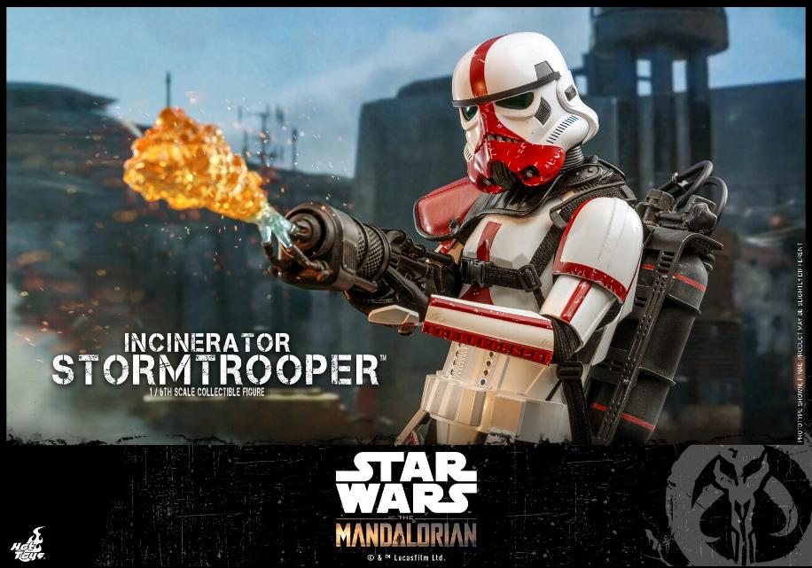 Incinerator Stormtrooper Collectible Figure 1:6 - Hot Toys Incine10
