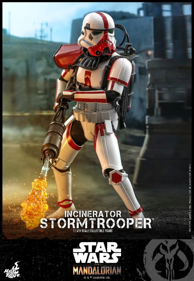 Incinerator Stormtrooper Collectible Figure 1:6 - Hot Toys Incine11