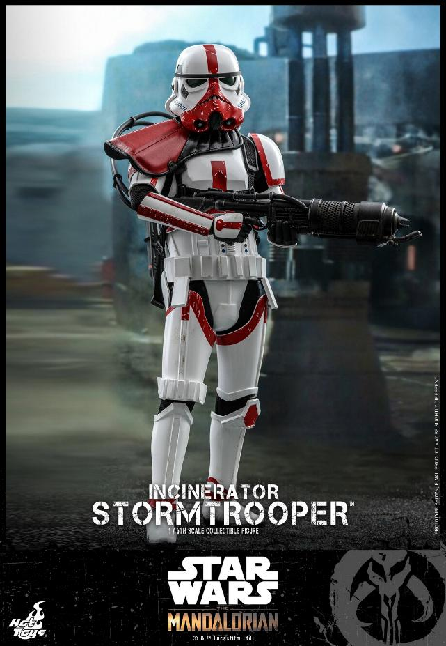 Incinerator Stormtrooper Collectible Figure 1:6 - Hot Toys Incine12